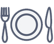 Cooking classes icon